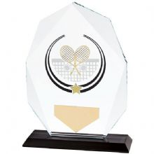 Glacier Premium Glass Tennis Award